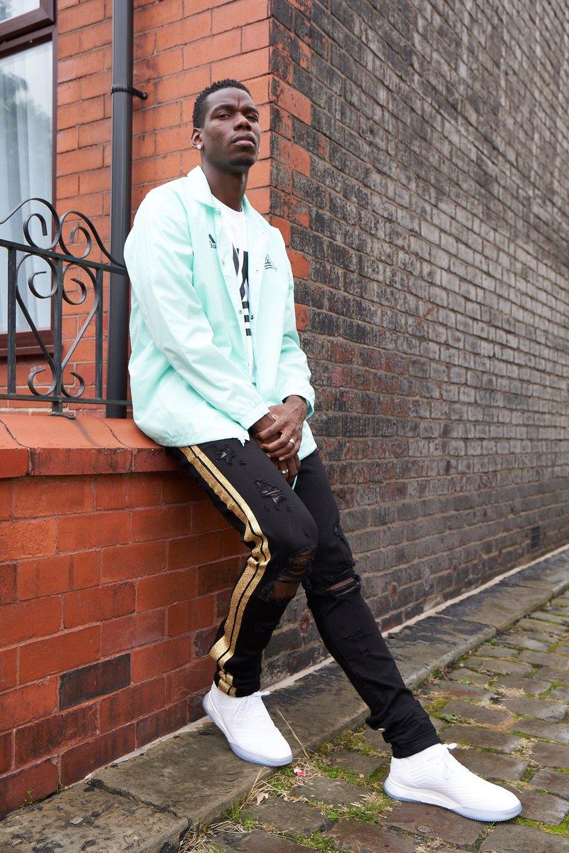 Paul Pogba trong một shoot hình của adidas