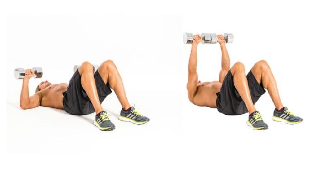 tập thể dục tạ tay