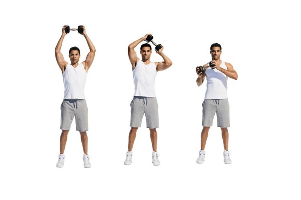 tập thể dục tạ