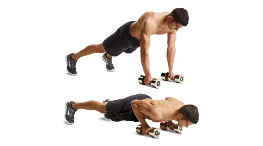 tập thể dục tay tạ