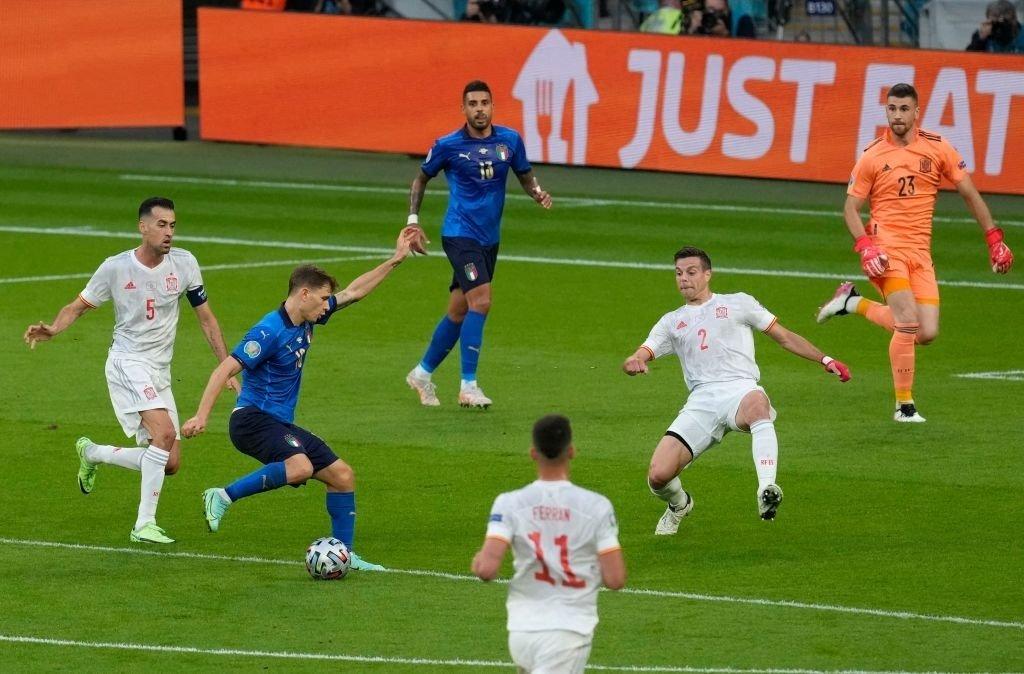 Italy vs Tây Ban Nha Euro 2020