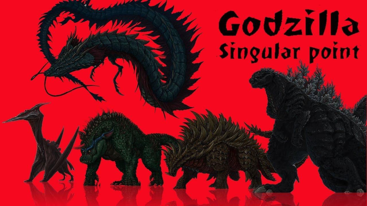 Godzilla Singular Point - hệ thống quái vật Kaiju.