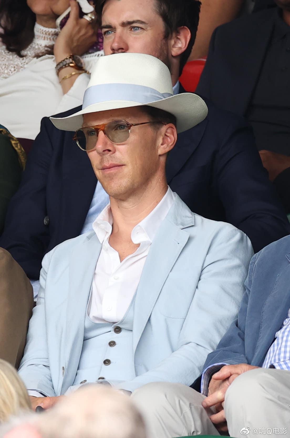 thời trang Benedict-Cumberbatch tại Wimbledon