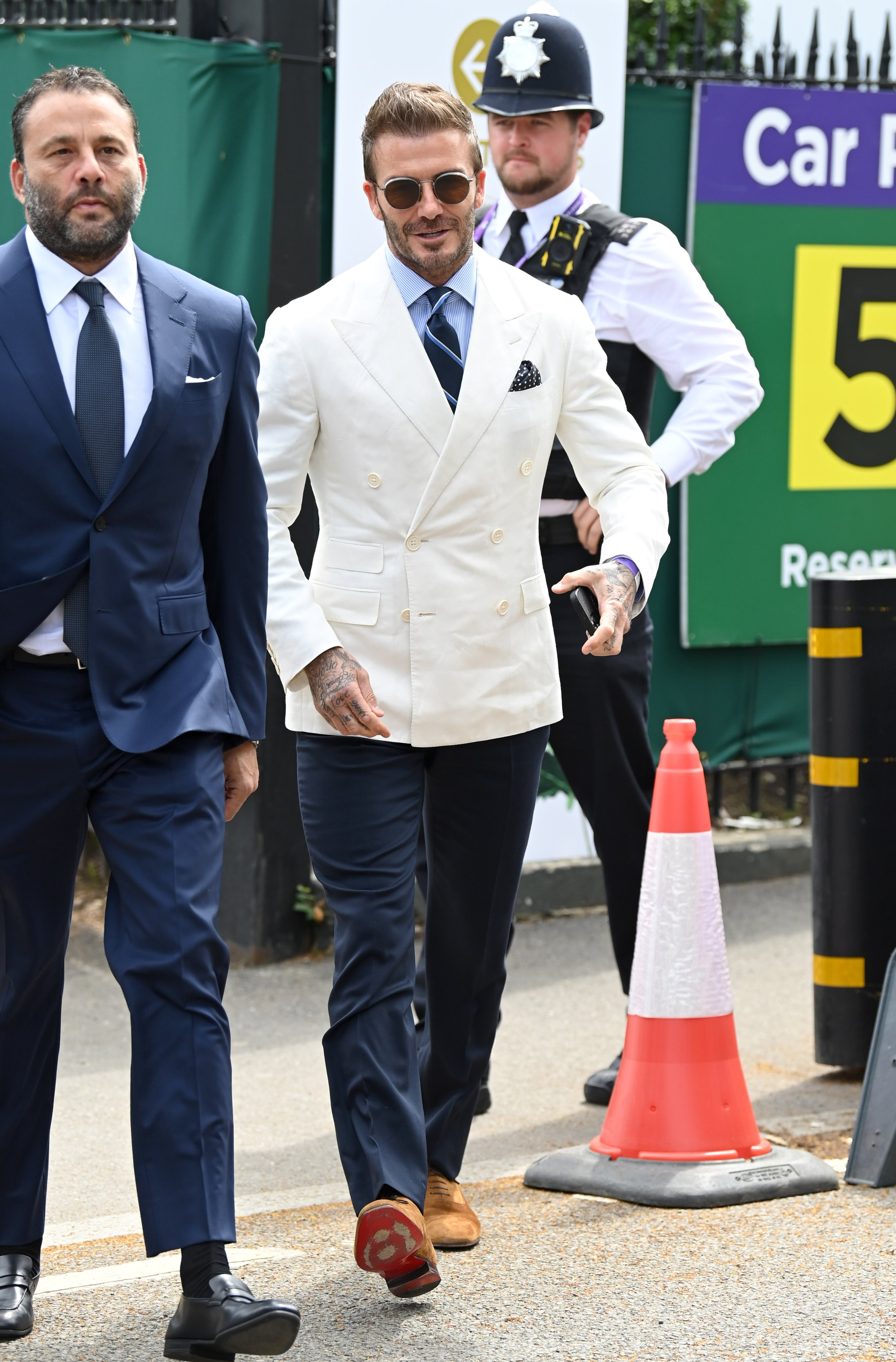 thời trang David Beckham tại