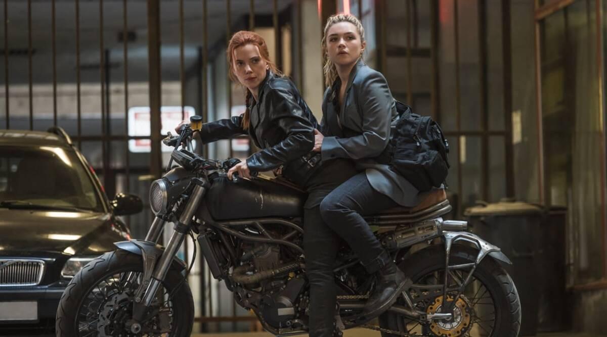 Scarlett Johansson và Florence Pugh trong vai hai chị em Góa Phụ.