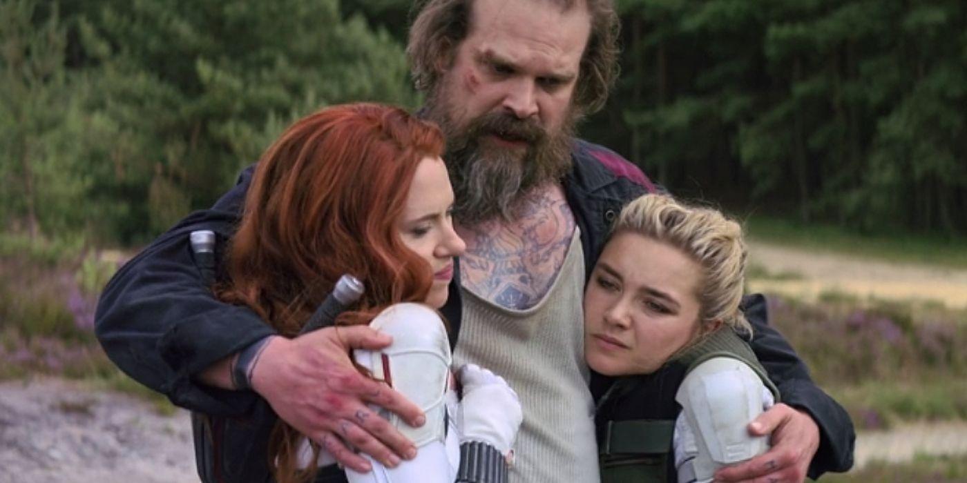 Gia đình Black Widow (2021).