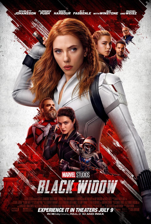 poster phim Black Widow (2021).