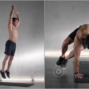 """10 phút tập thể dục """"đốt mỡ"""" hiệu quả tại nhà"""