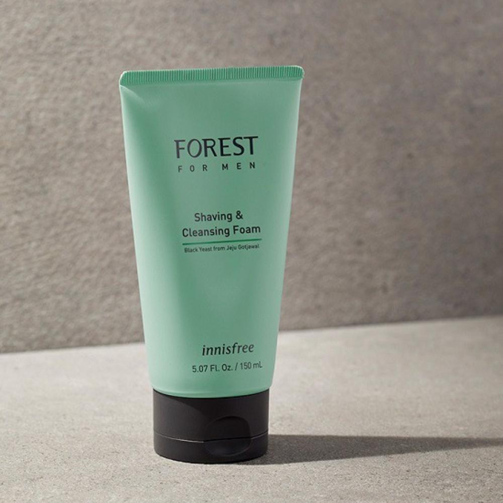 sửa rửa mặt nam Forest for men Shaving & Cleansing Foam