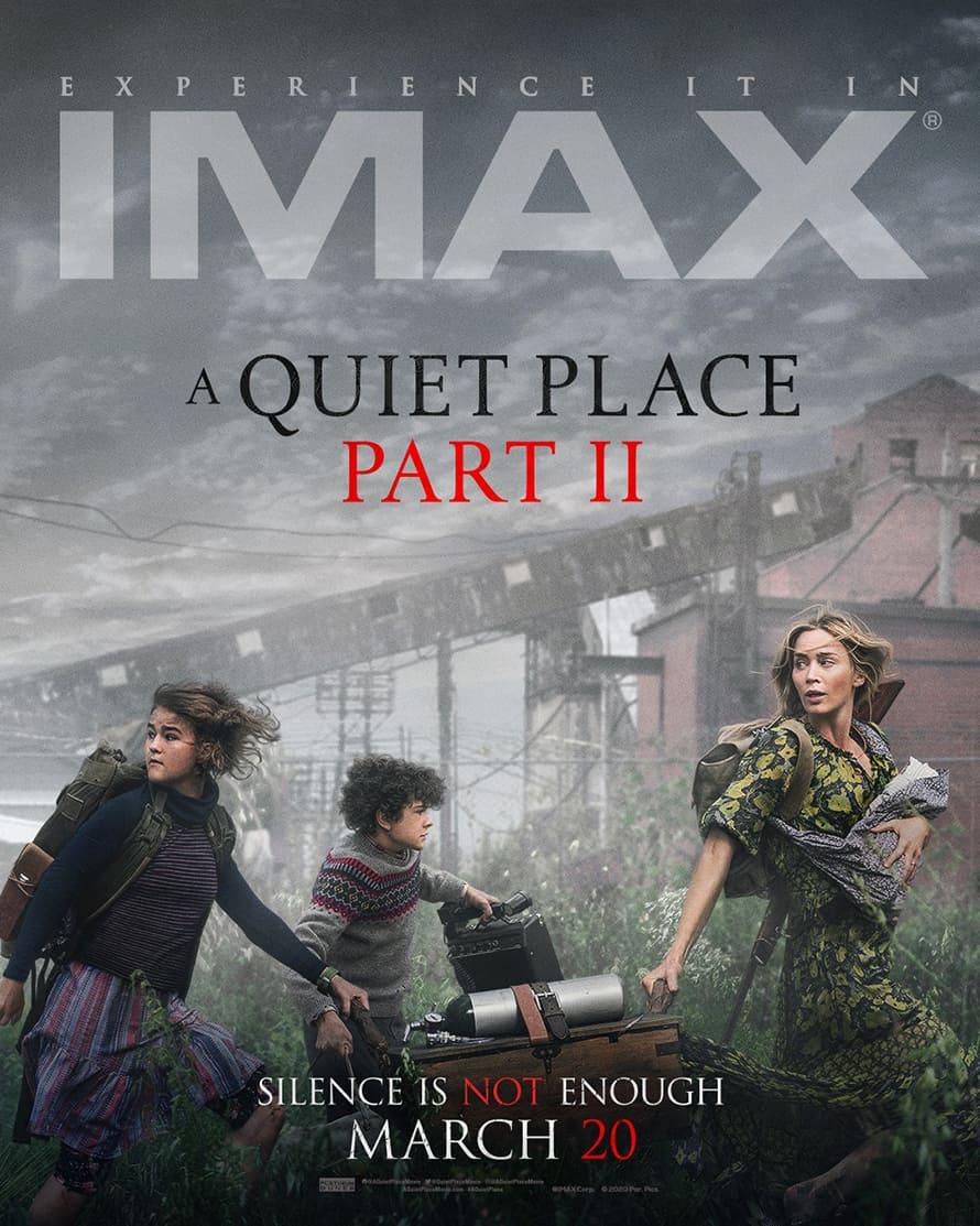 poster phim a quiet place part 2.