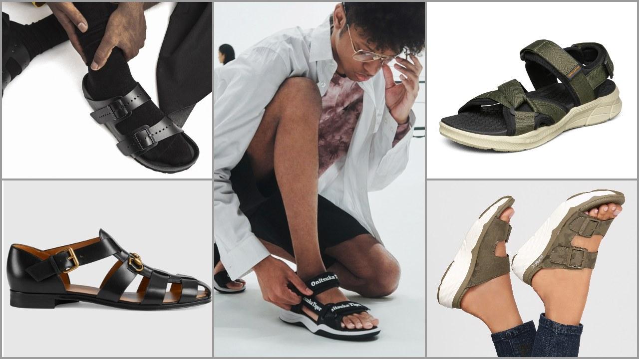 Gợi ý mua sắm: Top giày sandals nam hot 2021