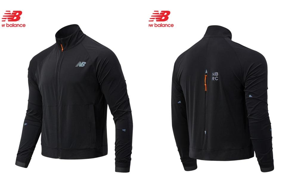 new balnce áo khoác đen