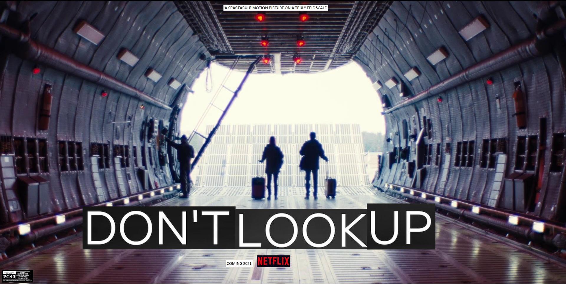 Phim viễn tưởng Don't look up.
