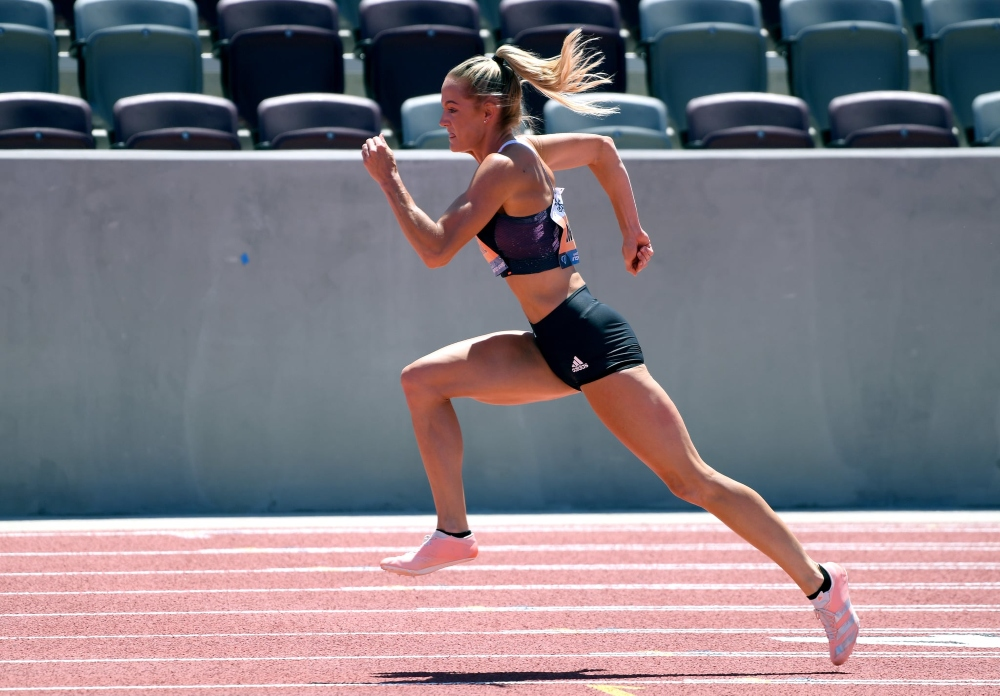 Georganne Moline vận động viên olympic 2020