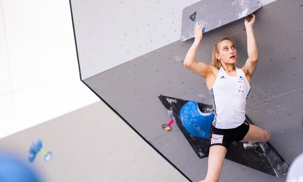 Janja Garnbret thế vận hội 2020