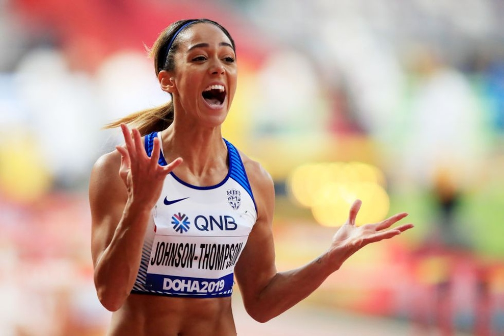 Katerina Johnson-Thompson vận động viên nữ nóng bóng Olympic 2020