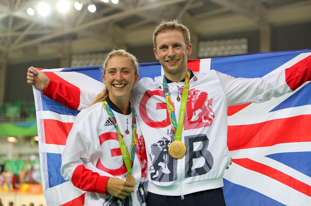laura kenny and jason kenny tham gia Olympic 2020