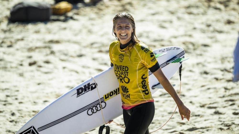 Stephanie Gilmore nữ vận động viên lướt sóng 2020