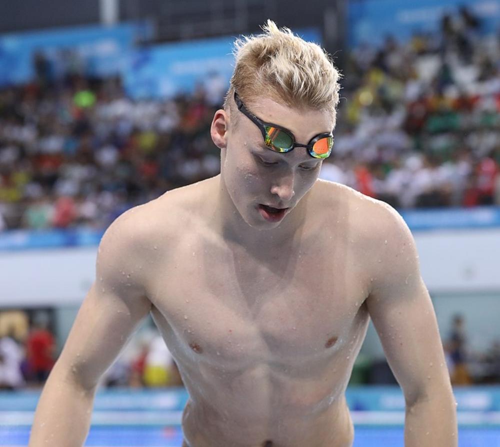 Andrei Minakov vận động viên olympic 2020