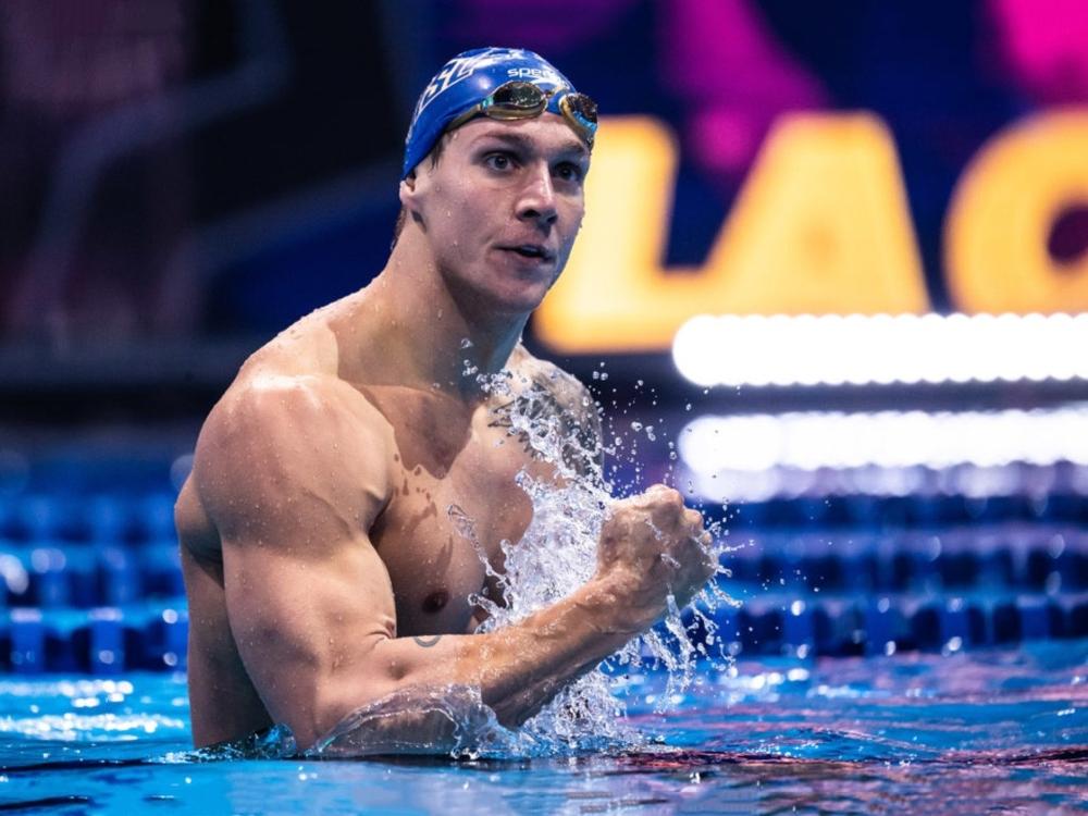 Caeleb Dressel vận động viên olympic 2020