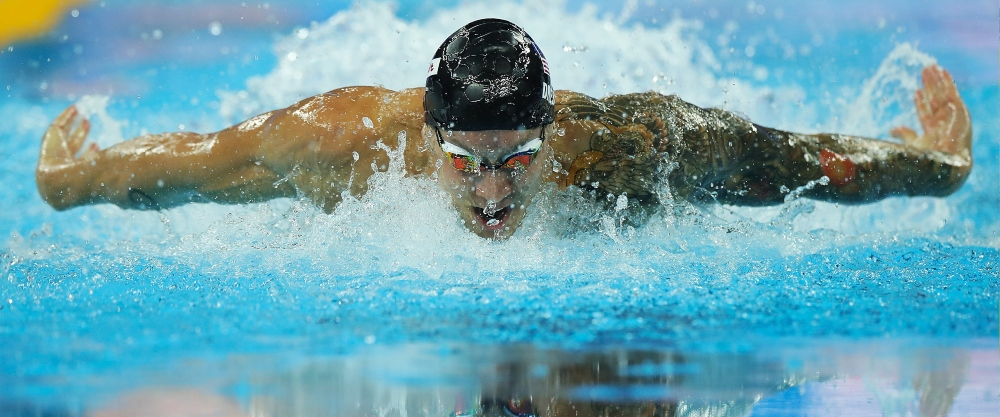 Caeleb Dressel tham gia thế vận hội 2020