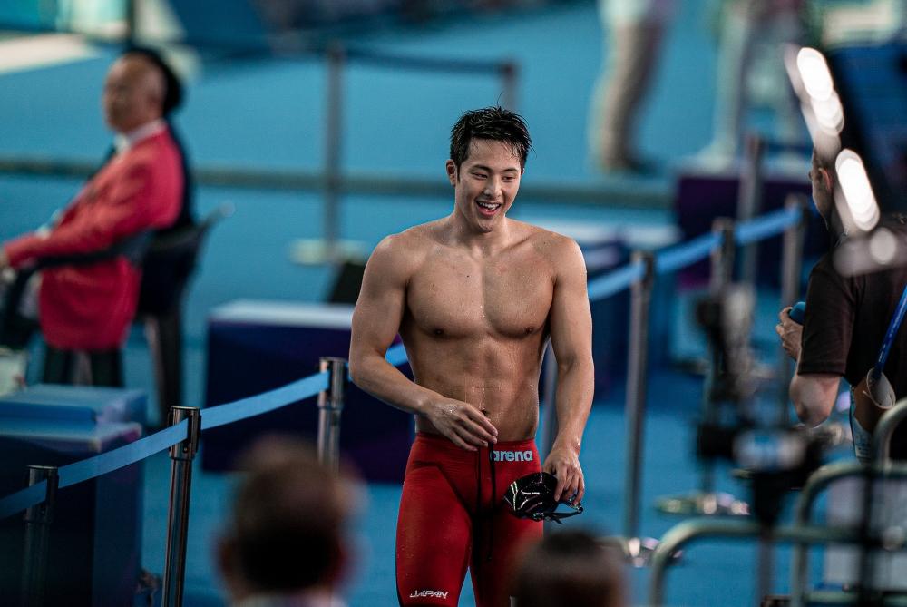 Daiya Seto vận động viên bơi lội Olympic 2020