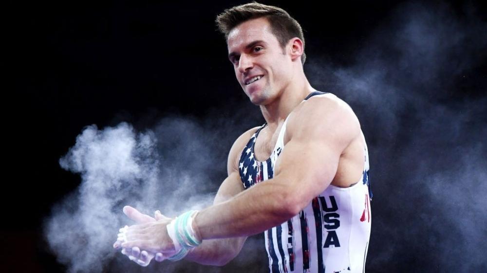 Sam Mikulak vận động viên thể dục dụng cụ