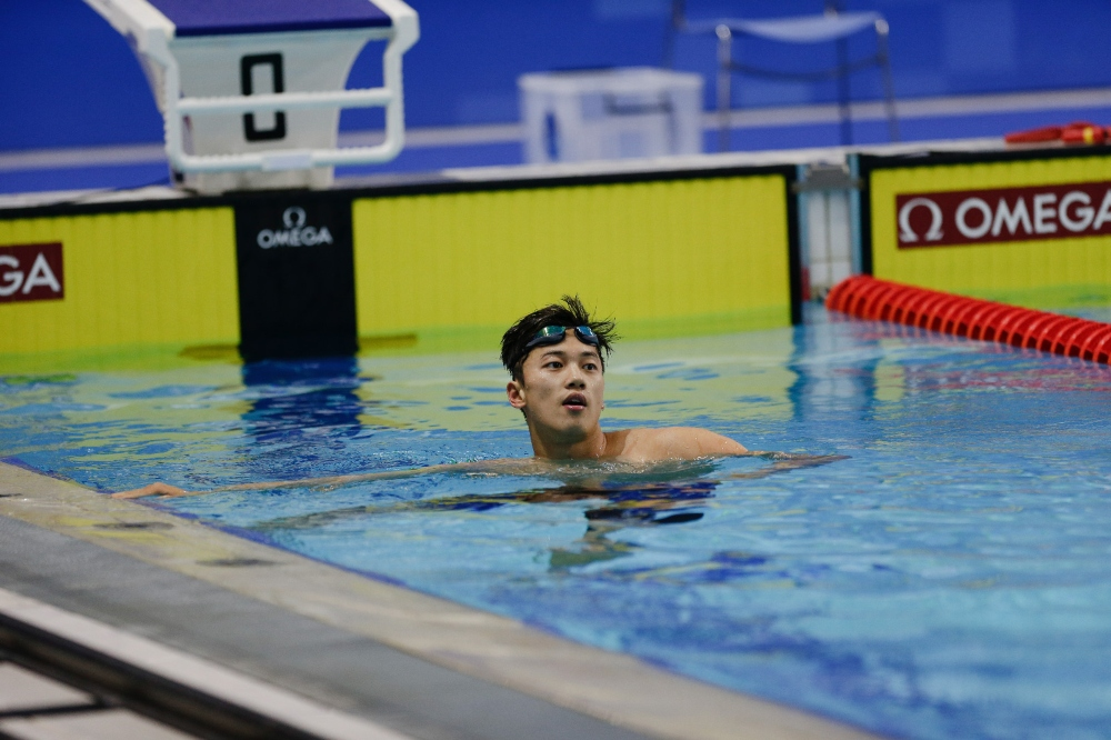 Wang Shun tham gia thế vận hội 2020
