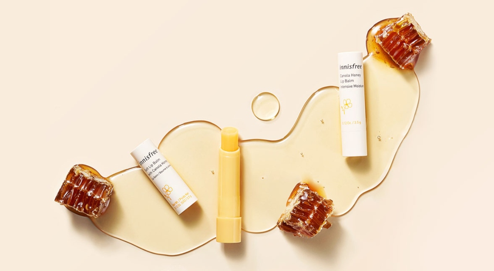 son dưỡng môi nam Innisfree Canola Honey Lip Balm