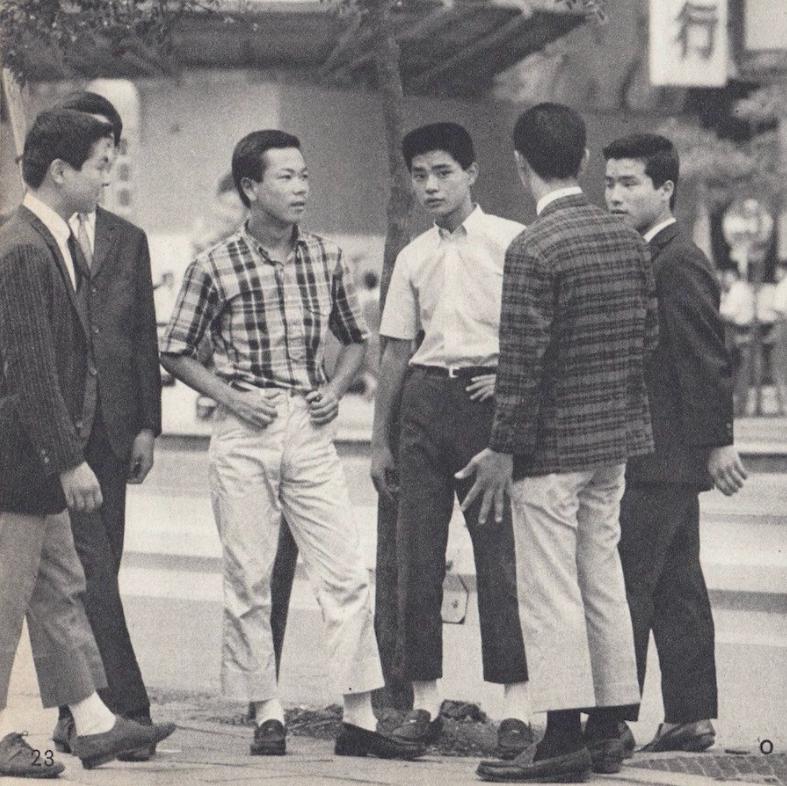 Phong cách Ivy League tại Nhật