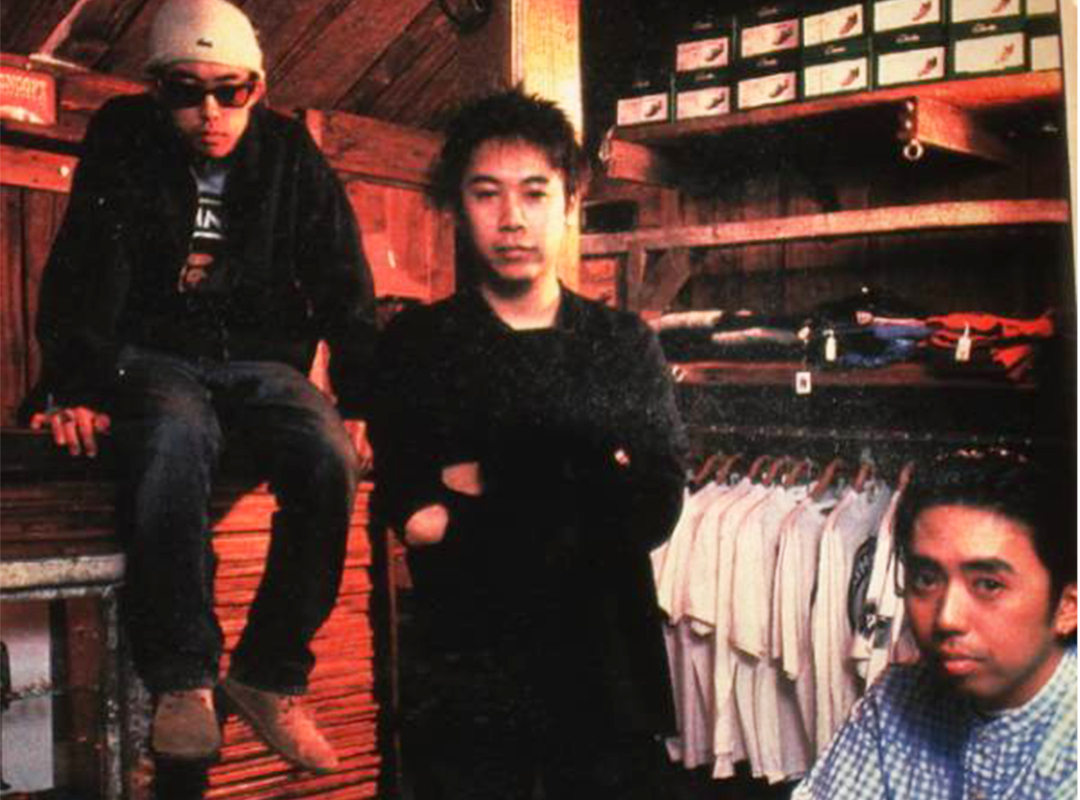 Nigo, Jun Takahashi và Hiroshi Fujiwara