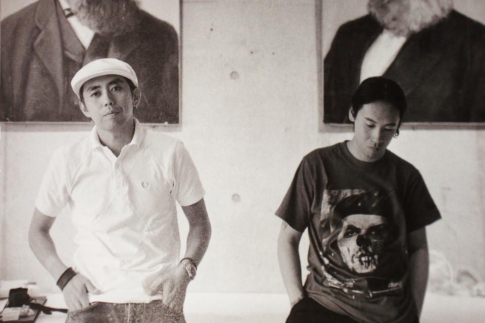 Hiroshi Fujiwara và Jun Takahashi