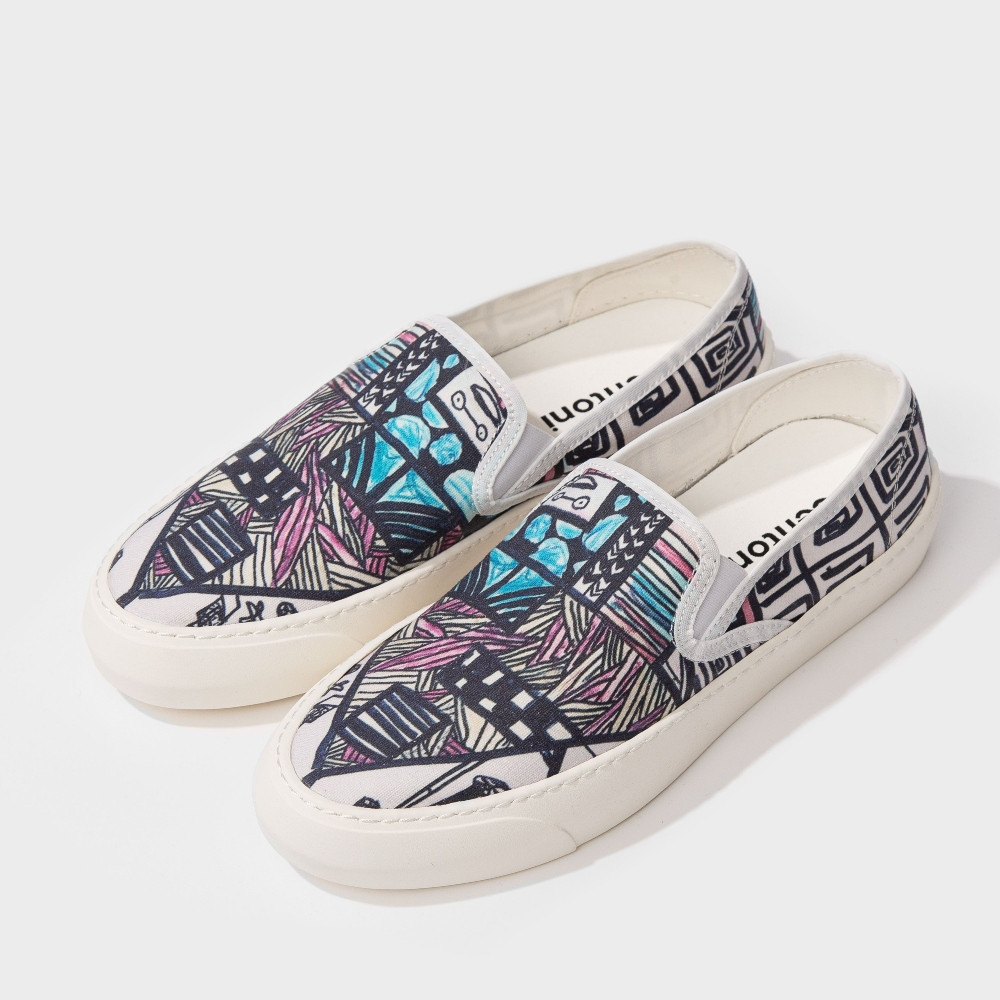 BENTONI - GRAPHICS SLIP-ON giày lười
