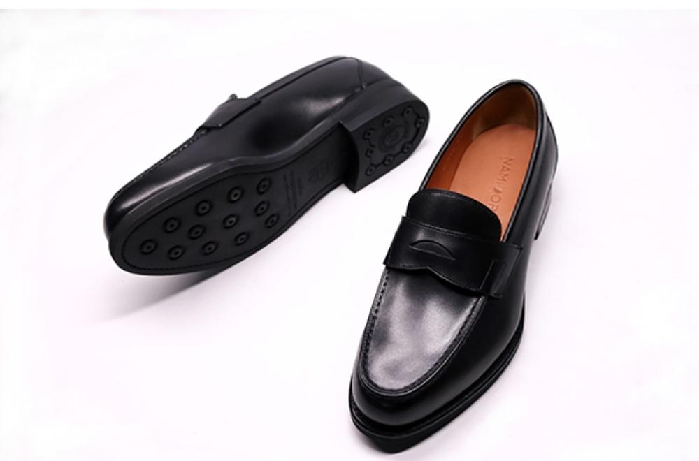 11. Giày Lười Da Bê NAMIDORI Penny Loafer AR06