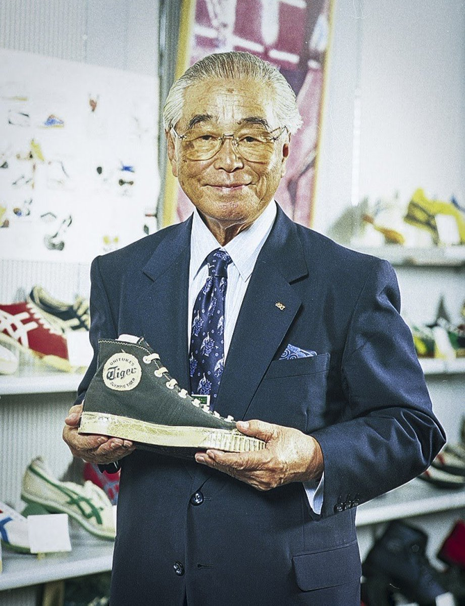 Chân dung người sáng lập thương hiệu - Kihachiro Onitsuka