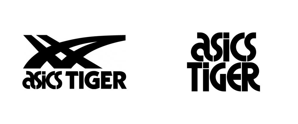 logo Asics Tiger.