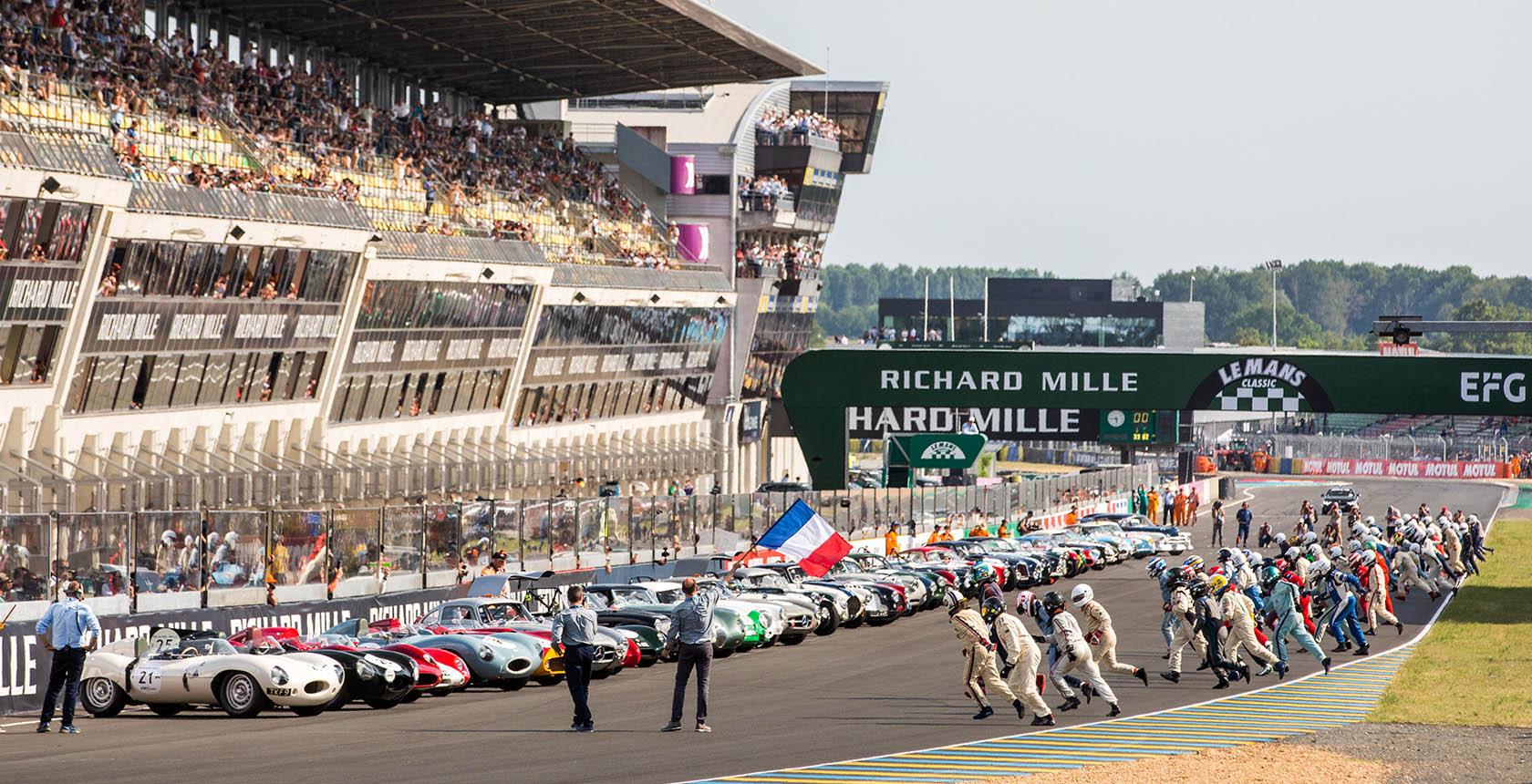 giải đua xe Le Mans Classic