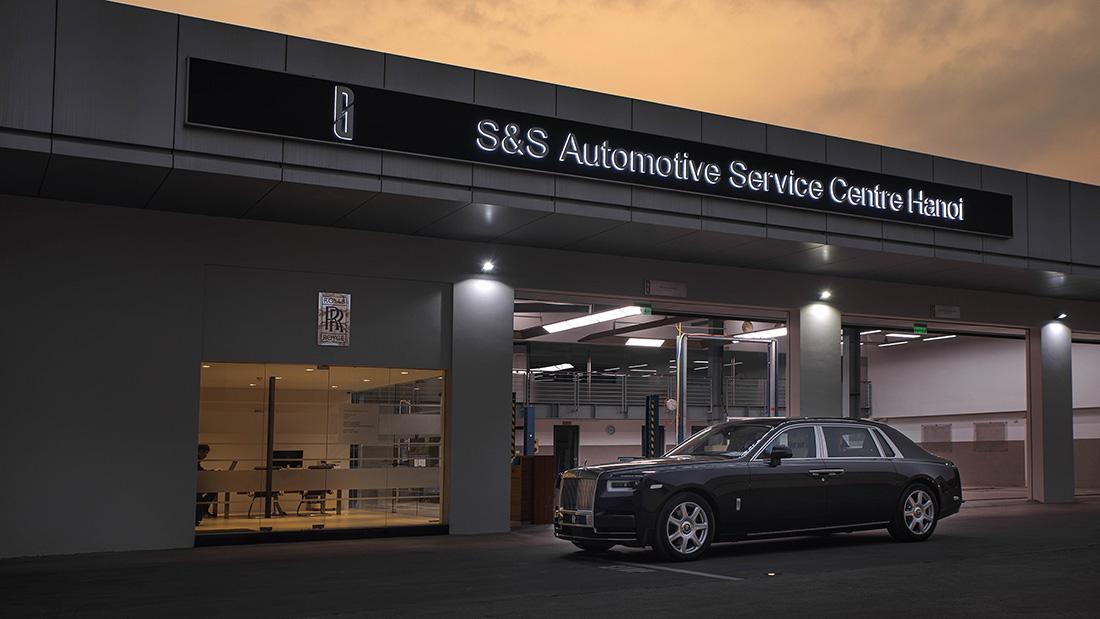 Rolls-Royce S&S Automotive Service Centre