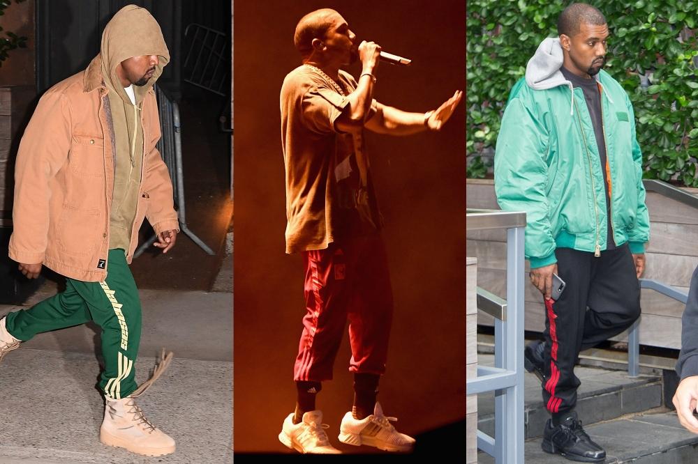 Kanye West diện quần joggers