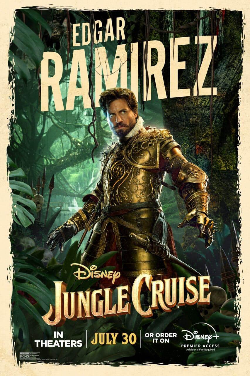 jungle cruise - Édgar Ramírez