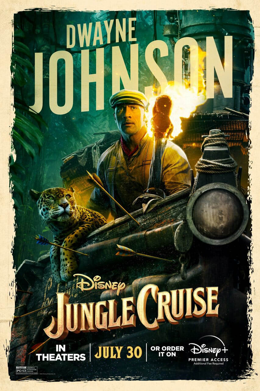 The Dwayne Johnson trong phim Jungle Curise.