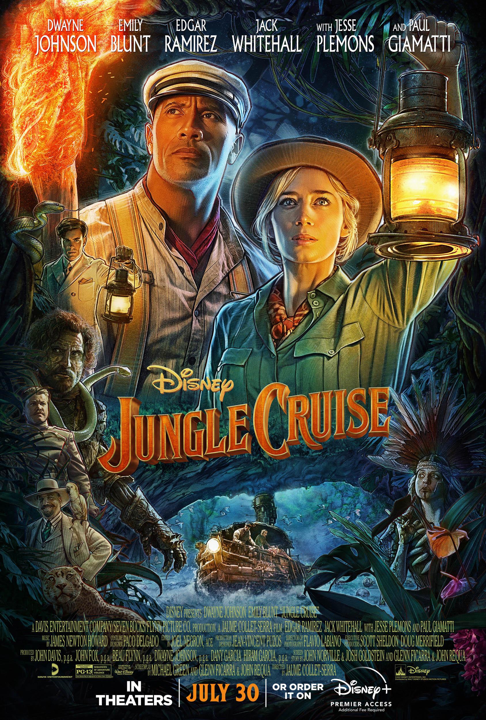 poster phim jungle cruise
