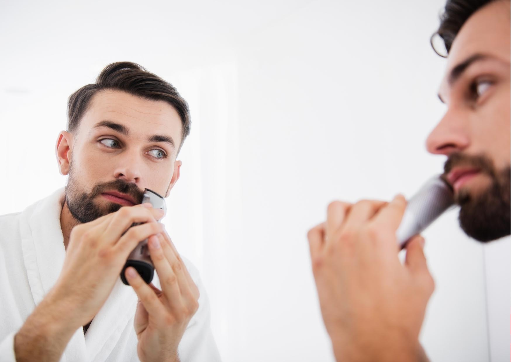 lỗi ngoại hình người đàn ông cạo râu