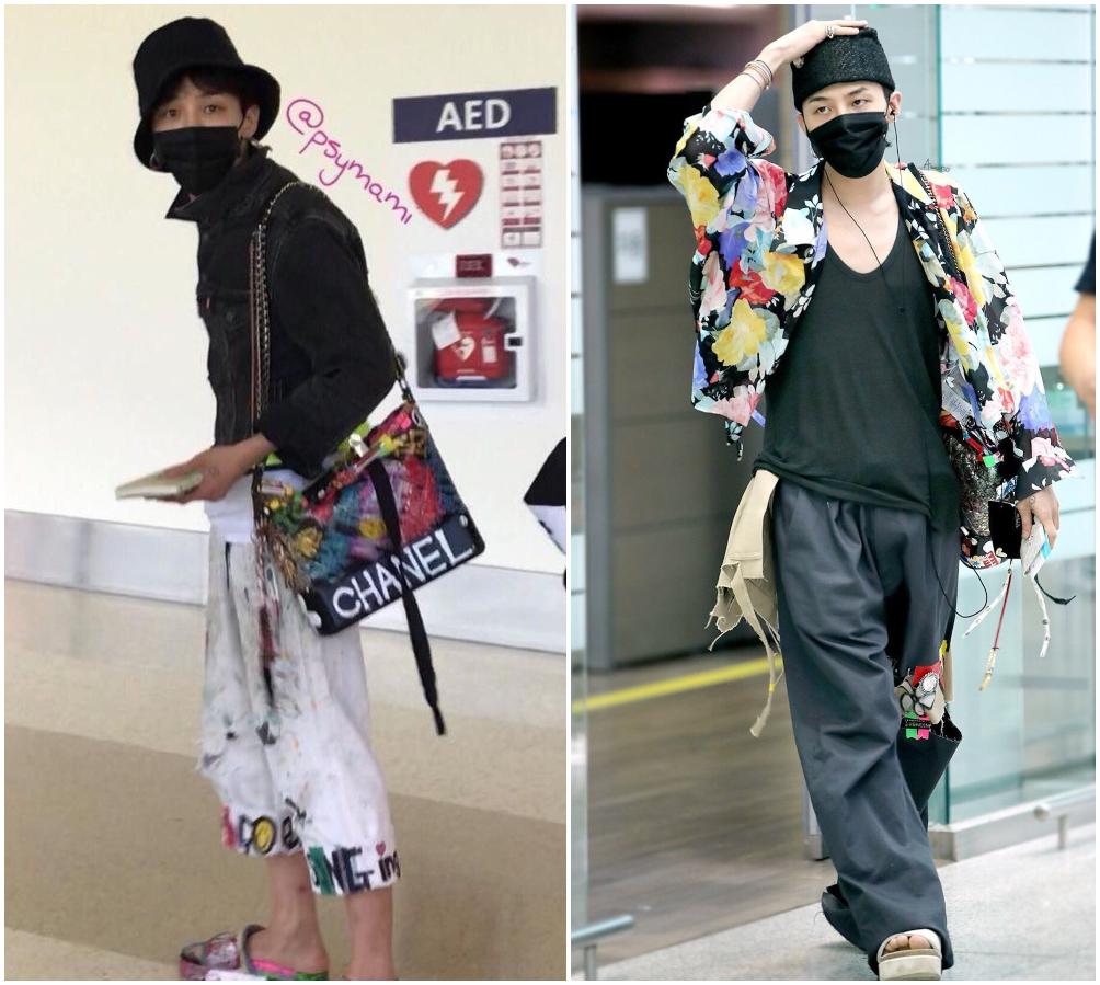 G-Dragon cùng phong cách phối đồ ngẫu hứng