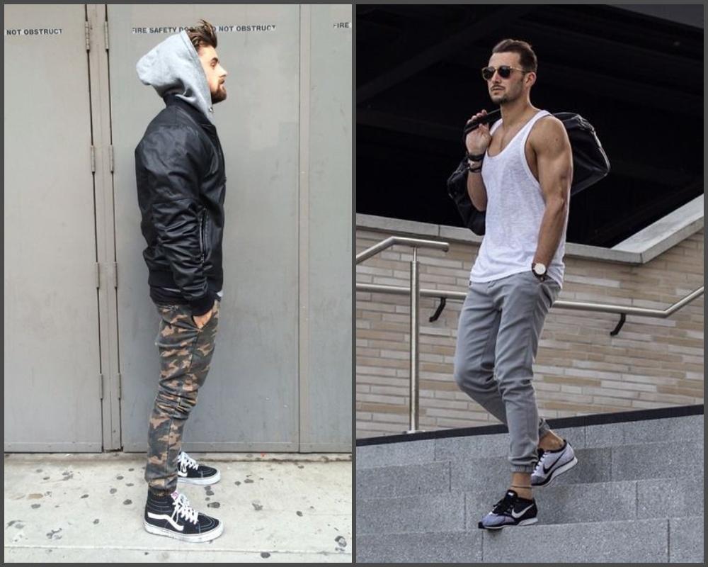 street style thoải mái và streetwear hầm hố với quần jogger.