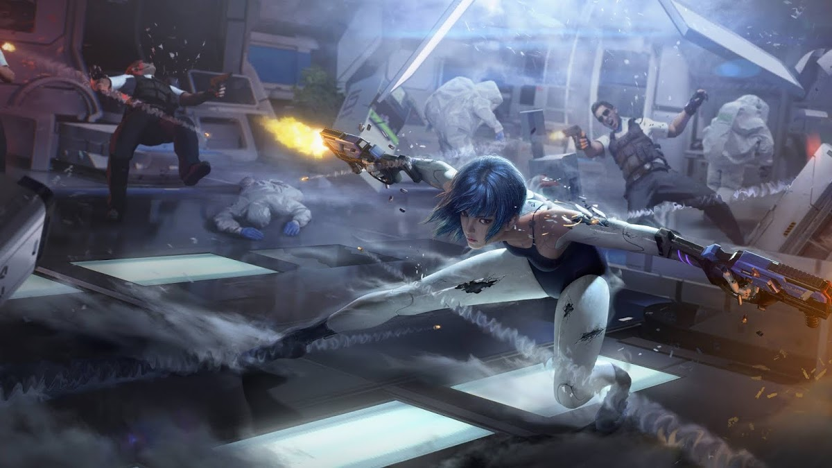 game mobile game di dong -cyber hunter - elle man 2.1