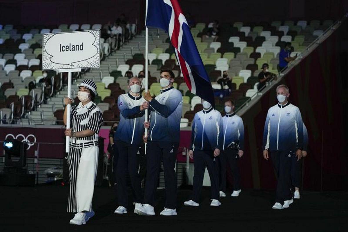 Đội tuyển Iceland tại Olympic Tokyo 2020.