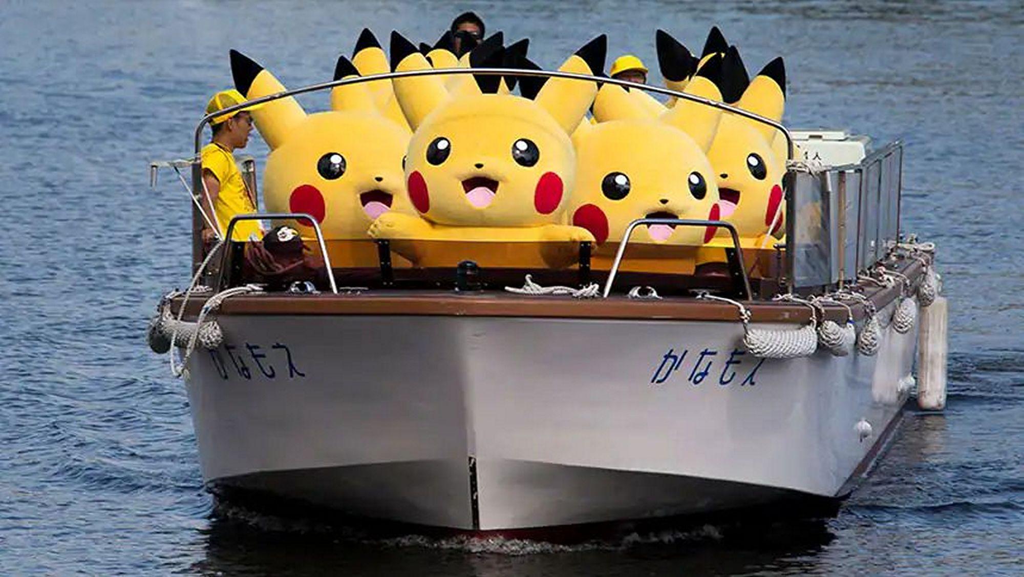 binh đoàn Pikachu tại Olympic Tokyo 2020