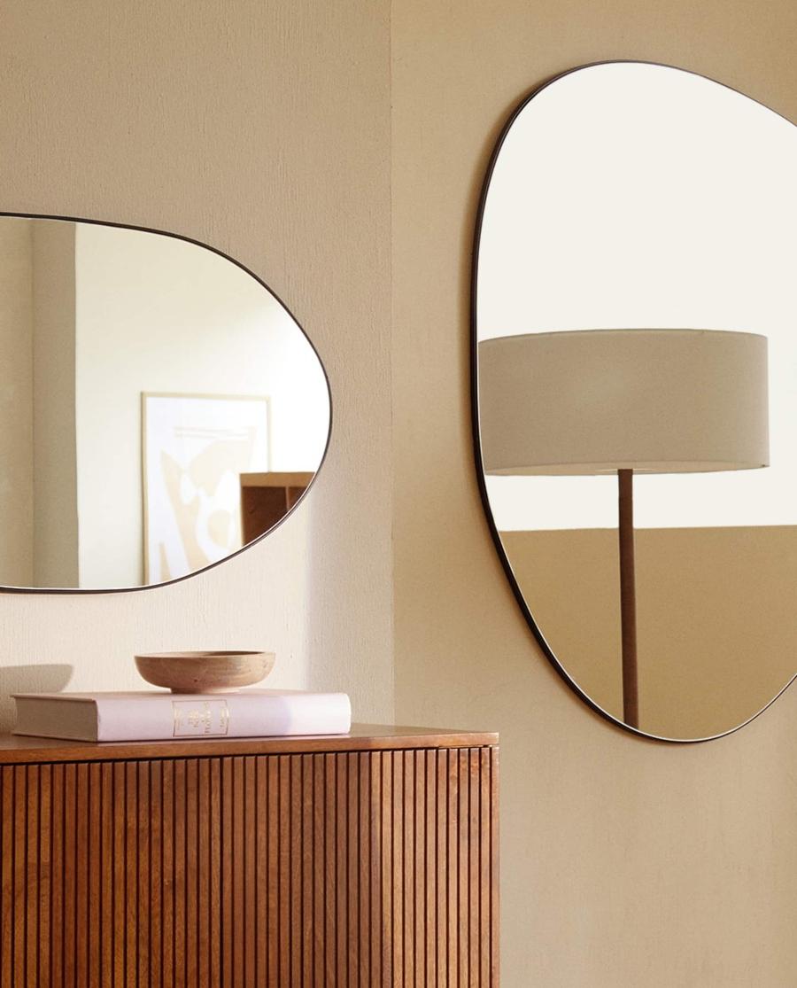 trang trí nhà bằng gương
