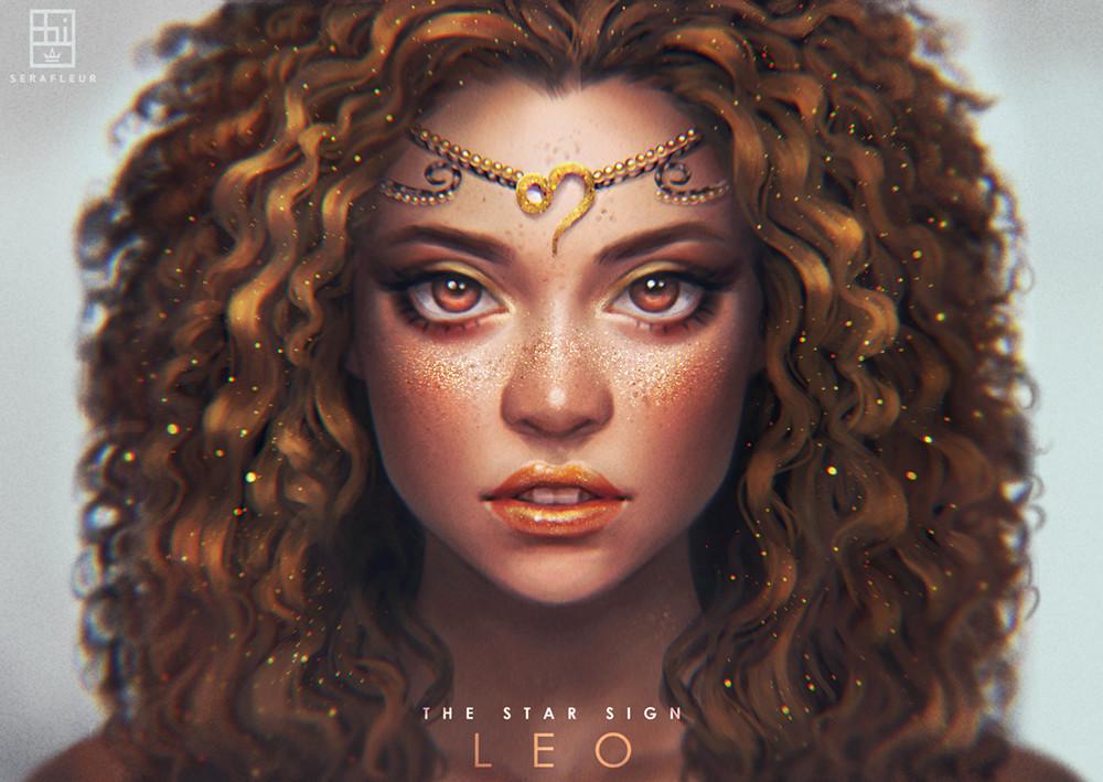 Cô gái cung sư tử